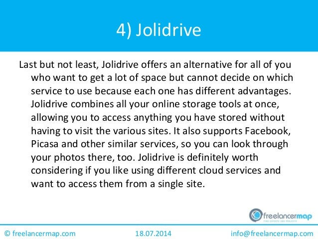 Best free online storage options