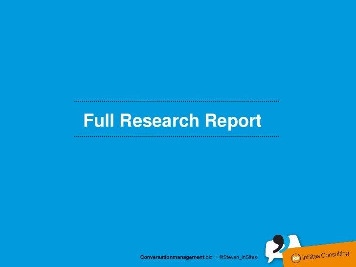 Full Research Report