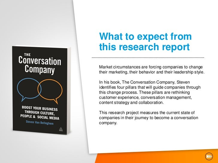 What to expect fromthis research reportMarket circumstances are forcing companies to changetheir marketing, their behavior...
