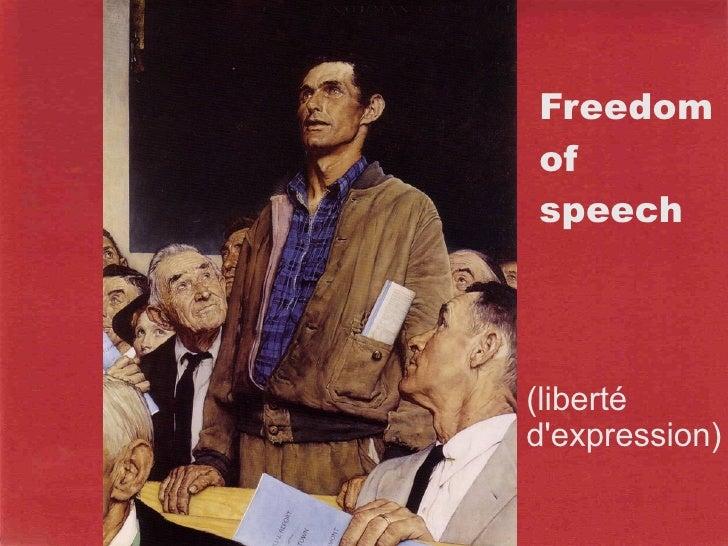The 4 Freedoms Slide 2