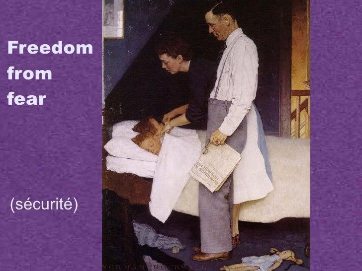 The 4 Freedoms Slide 3