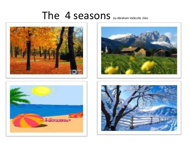 The 4 seasons by abe.