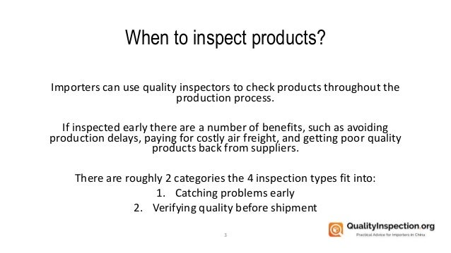 The 4 Types of Quality Inspection Services Slide 3