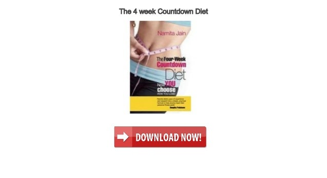 the 4 week diet with audio discounted