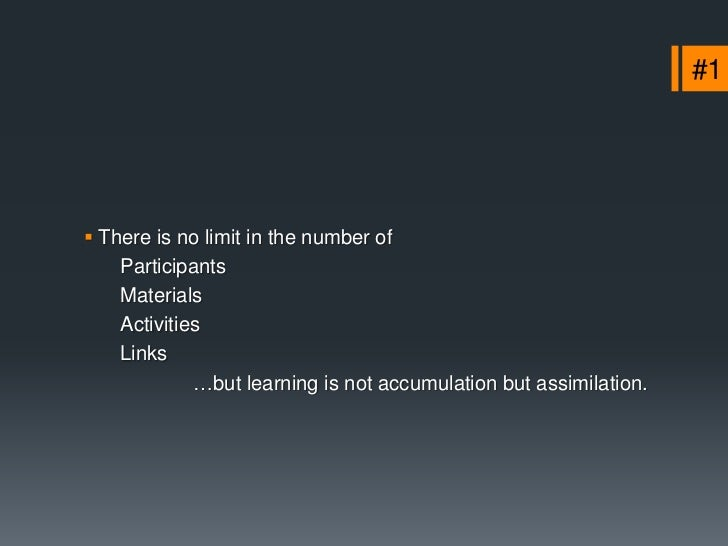 #4 Standardization and modularity are the dogma.                              …Teachers cannot move freely               ...