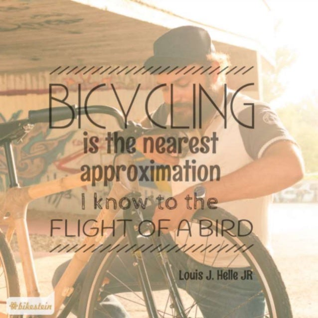 The 5 Most Beautiful Bicycle Quotes