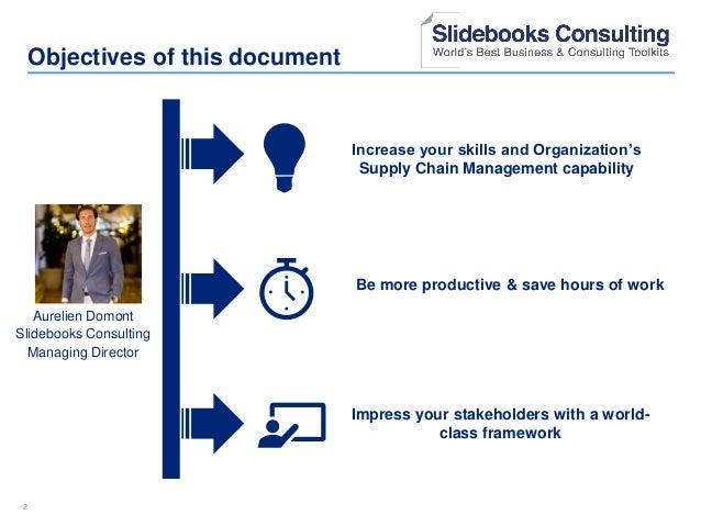 Supply Chain Management Training in Powerpoint   By ex-McKinsey Consultants Slide 2