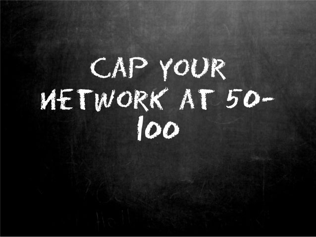 The 5 Secrets of Networking