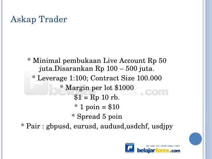 Askap forex broker