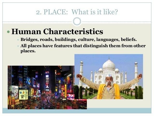 seven characteristics of human