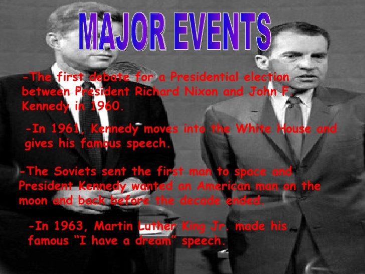 the significant events of the 1960s in america The events used in this interactive timeline were chosen on the basis of  importance at the time, and continuing significance for american culture at the  start of the.