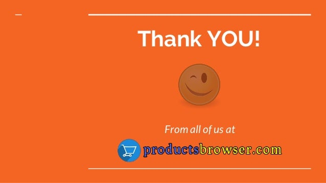 Thank YOU! From all of us at