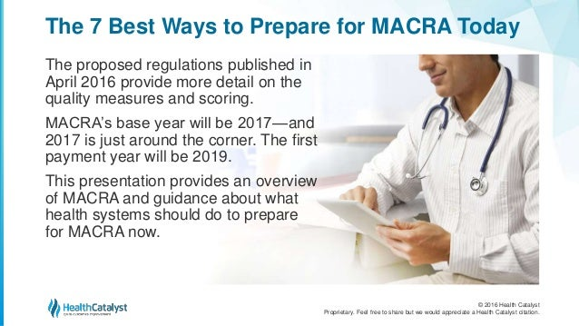 The 7 Best Ways To Prepare For Macra Today
