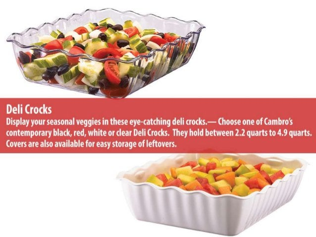 The 7 cambro products grocery stores love