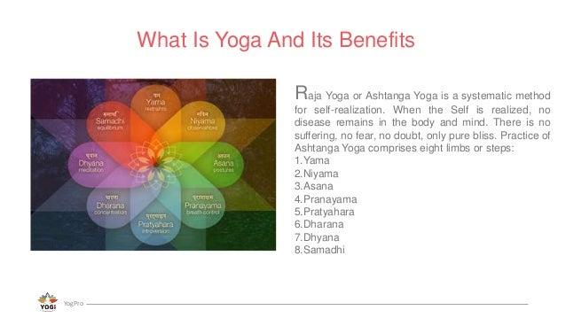 The 8 limbs of ashtanga yoga Slide 2