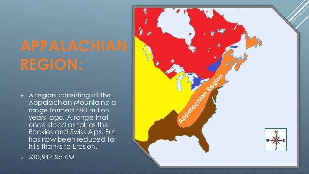 The 8 Physical Regions Of North America