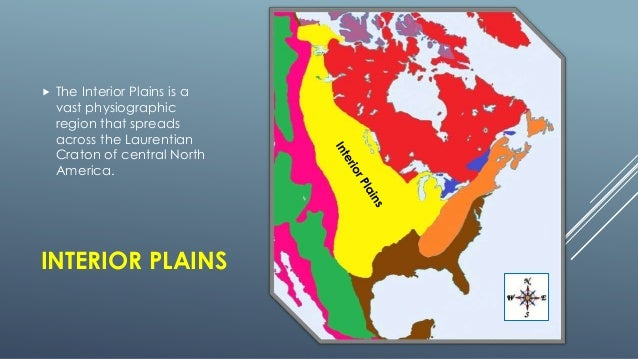 The Physical Regions Of North America - Physiographic map of the united states