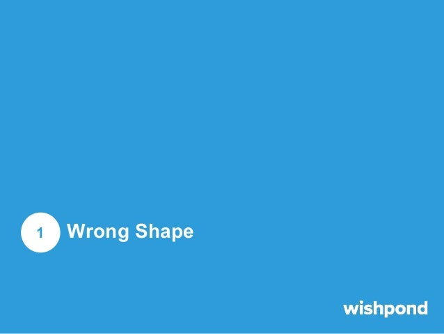 Wrong Shape  It should be well-known by now that Facebook Ads display in landscape, so your image should be landscape as w...