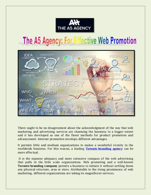 There ought to be no disagreement about the acknowledgment of the way that web marketing and advertising services are char...