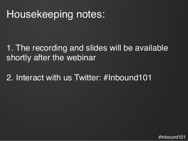 The ABCs of Inbound Marketing Slide 3