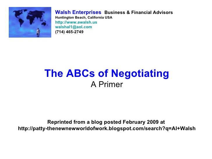 Walsh Enterprises Business & Financial Advisors              Huntington Beach, California USA              http://www.awal...