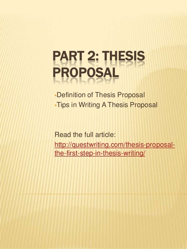 thesis writing definition Thesis definition, etymology and origin the thesis writing process normally starts from choosing an area and then a sub and sub-area in your subjectnext, you need to collect and assemble.