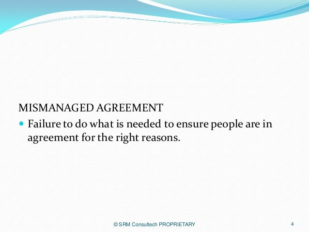 The Abilene Paradox The Management Of Agreement