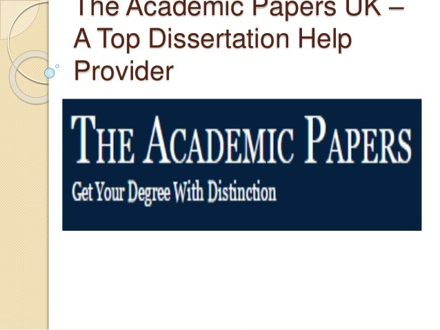 Dissertation help in the uk