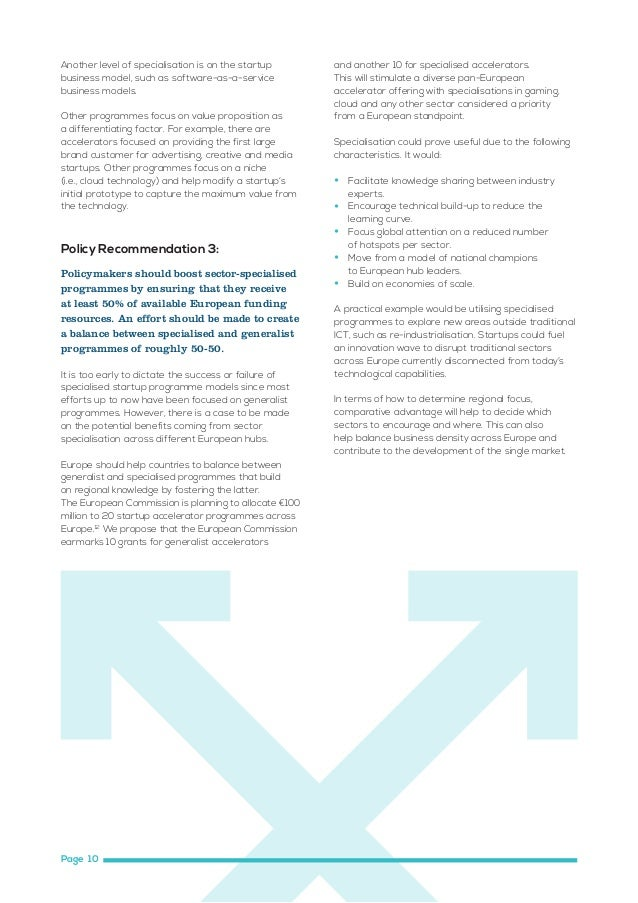 Policy Recommendation 4:  Policy Recommendation 5:  European leaders should take decisive steps to make country borders me...