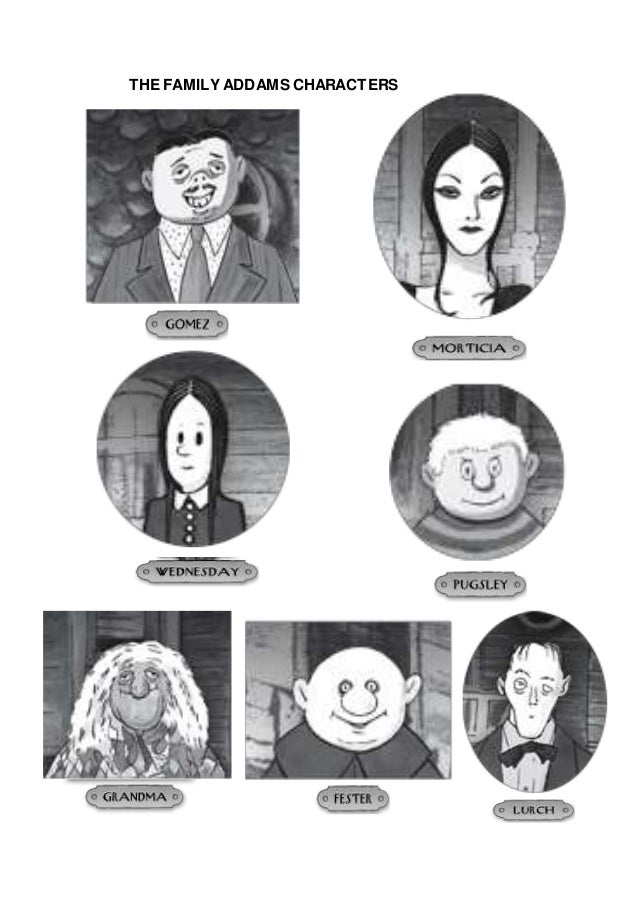 Addams Family Namen