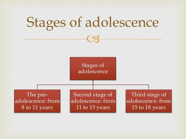 A world of adolescence
