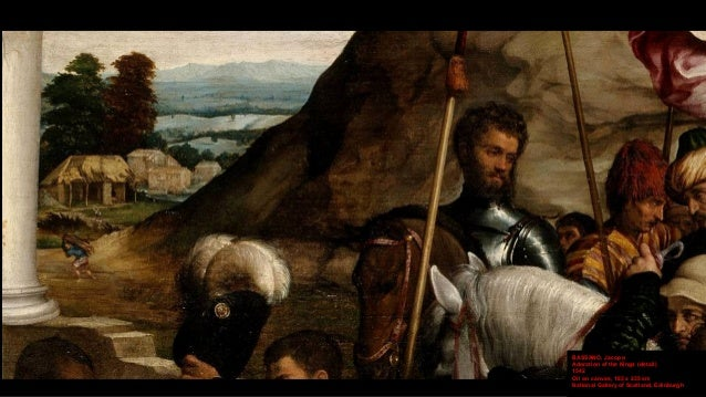 The Adoration of the Kings, Famous Paintings in detail