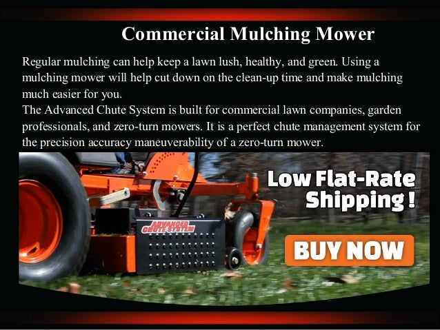 The Advanced Chute System -The Best Leaf Mulching Lawn Mower