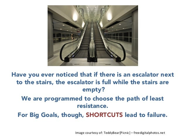 H    Have you ever noticed that if there is an escalator next to the stairs, the escalator is full while the stairs are em...