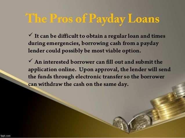 the advantages and disadvantages of fast payday loans 3 638