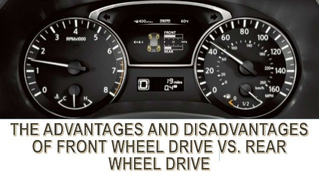 The Advantages and Disadvantages of Front Wheel Drive vs  Rear Wheel …