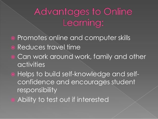 advantages and disadvantage of online