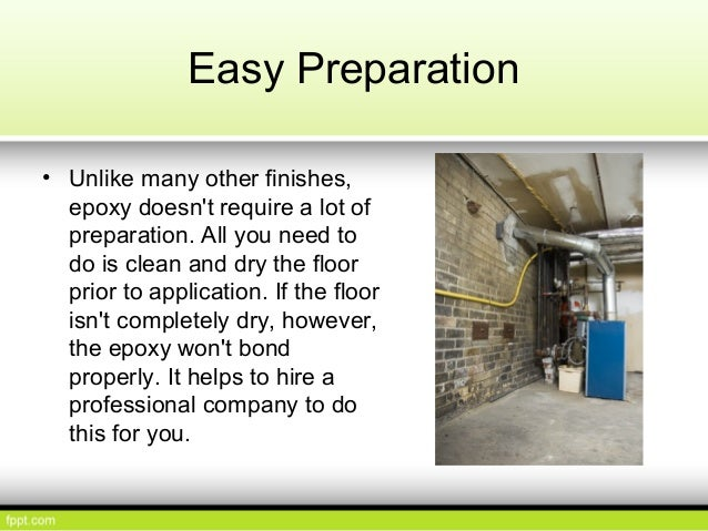 The advantages of epoxy flooring in your shop or garage for How to clean a garage floor without water