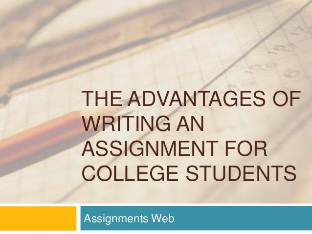 types of writing assignments for college students Grade 3 writing assessment the grade  types of writing required by  relating personal experience-writing assignments should direct students to recount an event.
