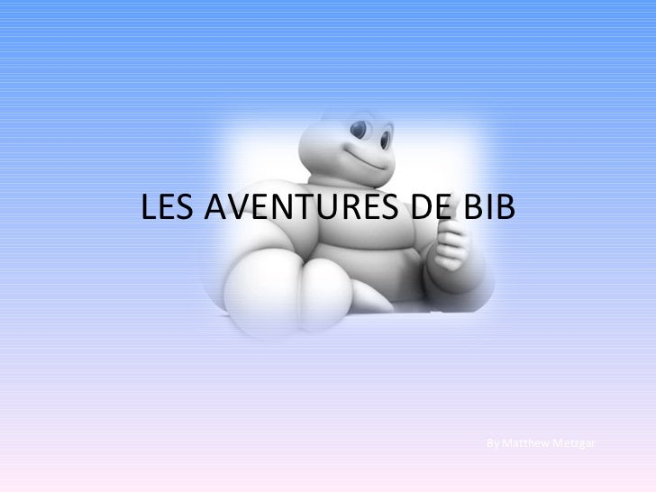 LES AVENTURES DE BIB By Matthew Metzgar