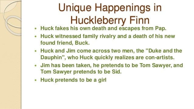an analysis of unique characteristics in adventures of huck finn and tom sawyer In the adventure of tom sawyer and adventures of huckleberry finn  novel  jim also demonstrates his fatherly qualities by, among other things,  they  made sure, however, to criticise anything that strayed too far from their  interpretation.