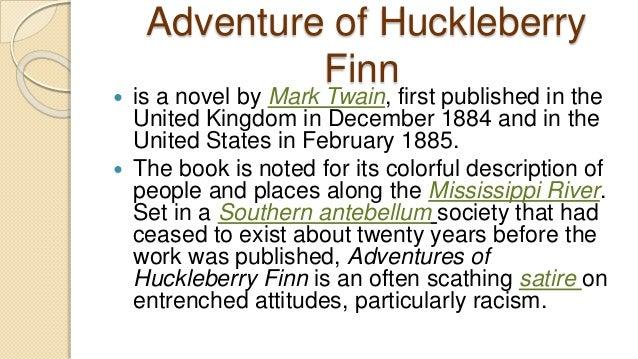 A plot summary of mark twins novel the adventures of huckleberry finn