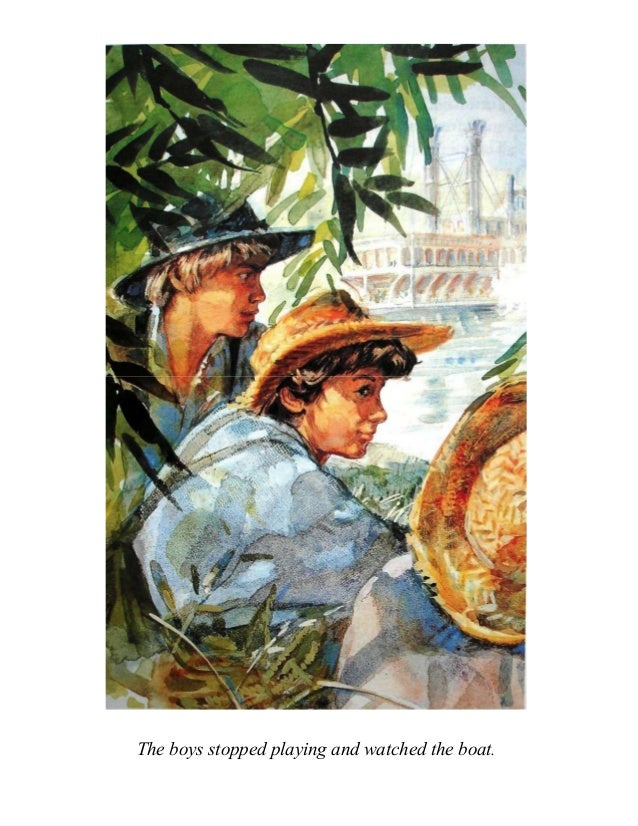 the adventures of tom sawyer chapter 3 4