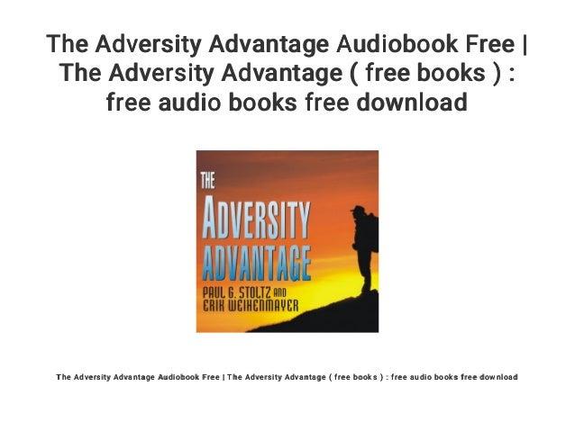 Adversity Advantage Picswe