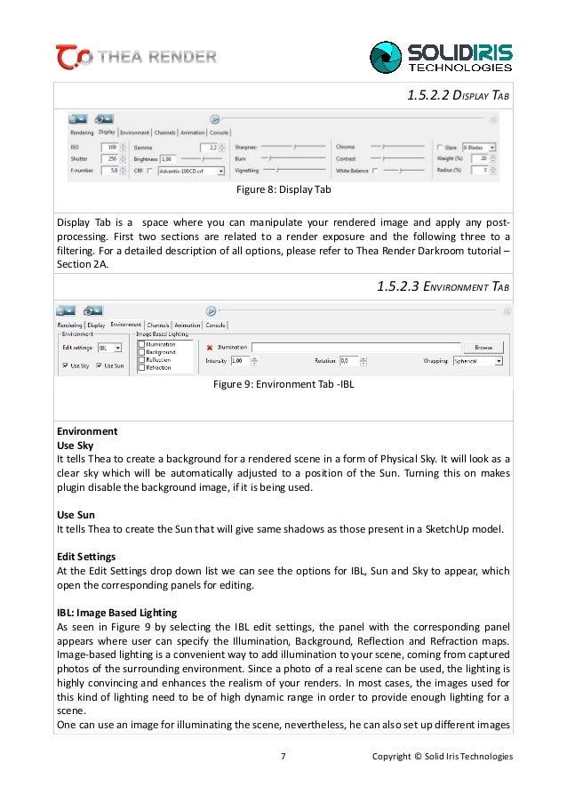 thea render sketchup license