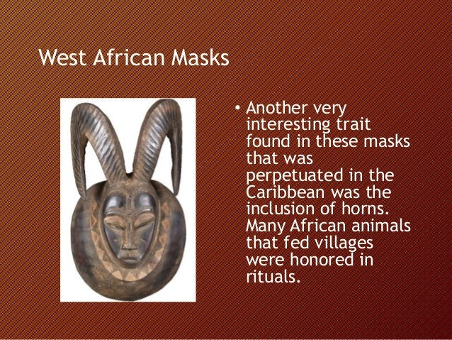 The Afro Caribbean Mask In Puerto Rico