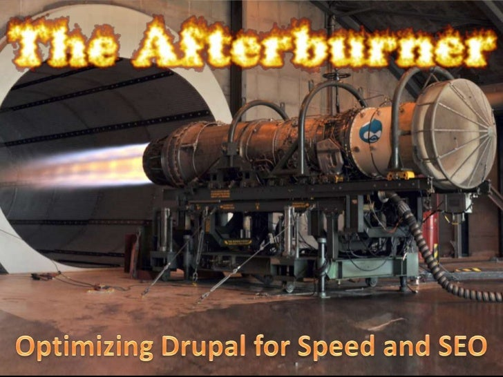 Optimizing Drupal for Speed and SEO<br />