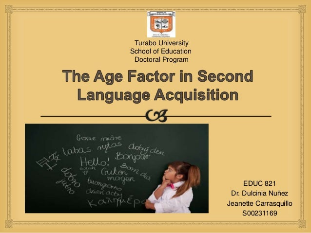 factors influencing the second language acquisition Factors which affect language learning and language learning process saptawulan hening nariswariatmojo   pgri adi buana university (surabaya, indonesia) this paper aims at emphasizing the importance of factors which affect language learning and language learning process.