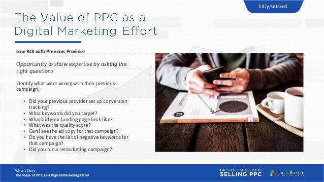 The agency blueprint to selling ppc webinar presentation digital marketing effort bitsetsked 25 malvernweather Images