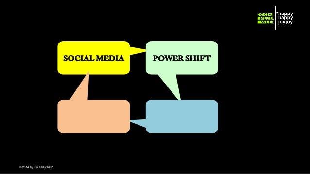 SOCIAL MEDIA  © hahajotjot* ©2014 by Kai Platschke* ! !  POWER SHIFT
